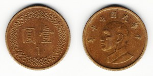 1 юань 1981 года