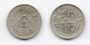 1 юань 1975 года