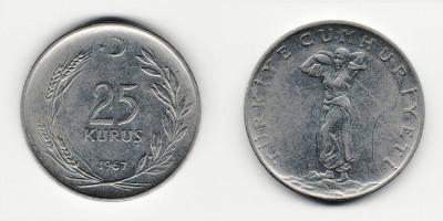 25 kurus 1967