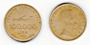 100 000 лир 1999 года