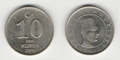 10 new kurus 2005