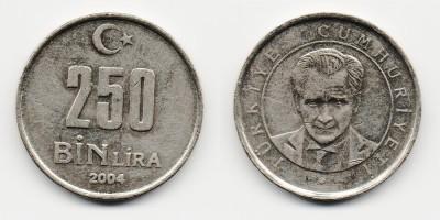 250000 lira 2004