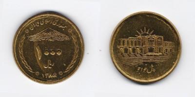 1000 rials 2009