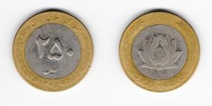 250 риалов 2005 года