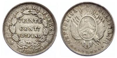 20centavos 1880