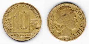 10 сентаво 1949 года