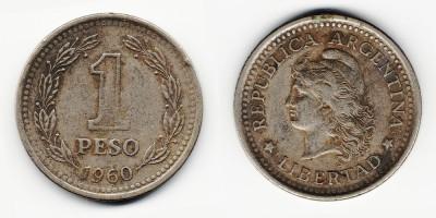 1 песо 1960 года