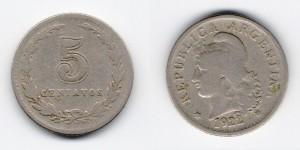 5 сентаво 1922 года