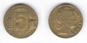 5 сентаво 1946 года