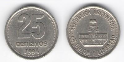 25 сентаво 1994 года