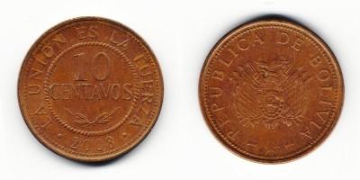 10 centavos 2008