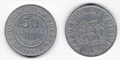 50 centavos 1991