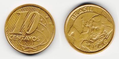 10 centavos 2011
