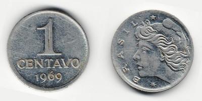 1 сентаво 1969 года