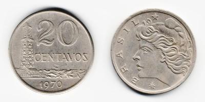 20 сентаво 1970 года