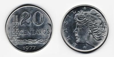 20 centavos 1977