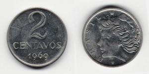 2 сентаво 1969 года