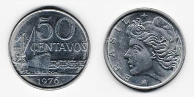 50 сентаво 1976 года