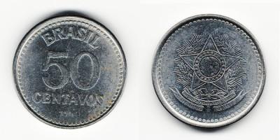 50 сентаво 1986 года