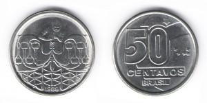 50 сентаво 1989 года