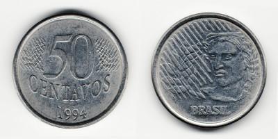 50 сентаво 1994 года