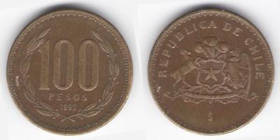 100 песо 1992 года