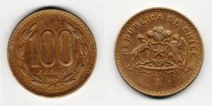100 песо 1994 года