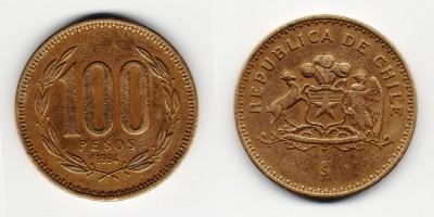 100 pesos 1994