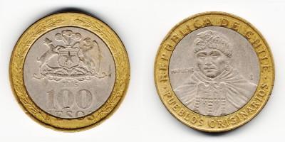 100 pesos 2005