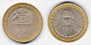 100 песо 2006 года