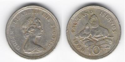 10 pence 1998