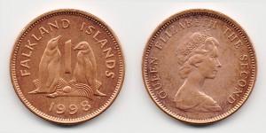 1 пенни 1998 года