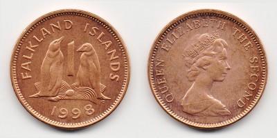 1 penny 1998