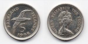 5 пенсов 1998 года