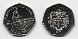 10 долларов 2011 года