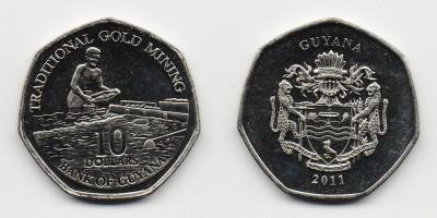 10 dólares 2011