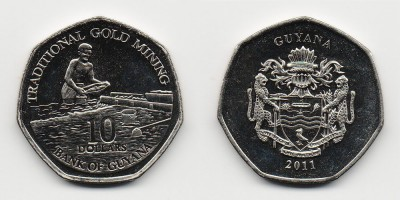 10 dollars 2011