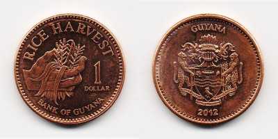 1 dólar 2012