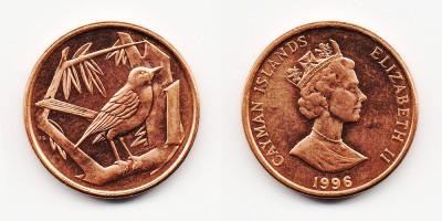 1 цент 1996 года