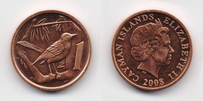 1 цент 2008 года