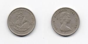 10 центов 1989 года