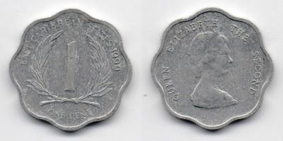 1 цент 1999 года