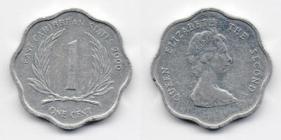 1 цент 2000 года