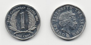 1 цент 2004 года