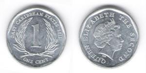 1 цент 2011 года
