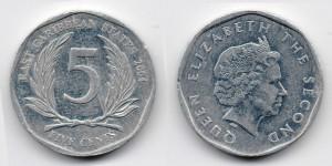 5 центов 2004 года