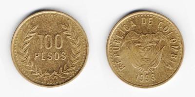 100 pesos 1993