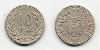 10 pesos 1990