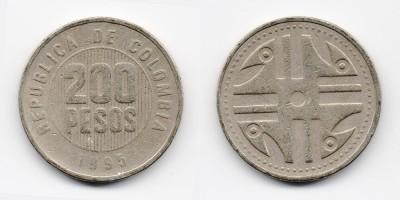 200 pesos 1995
