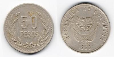 50 pesos 1993